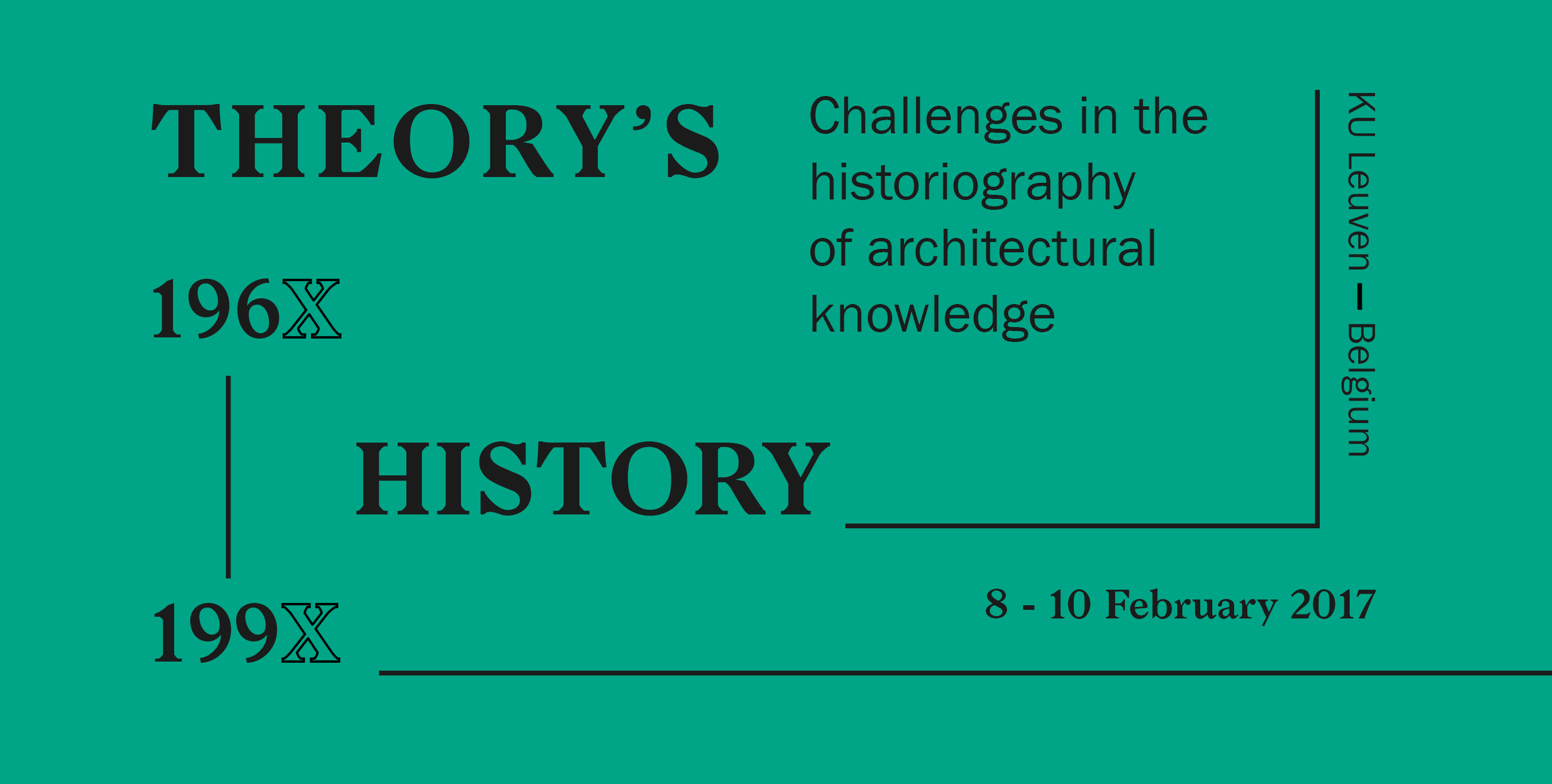 "Αποτέλεσμα εικόνας για ""Theory's History, 196X-199X Challenges in the historiography of architectural knowledge"""